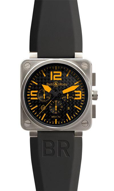 Bell & Ross BR 01-94 Titanium Orange watch