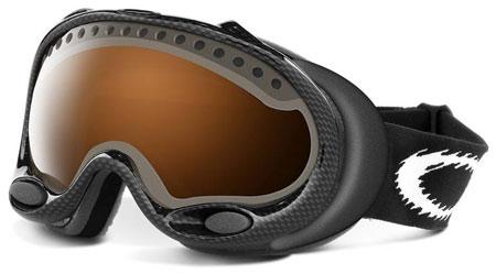 Oakley carbon fiber a-frame snow goggles