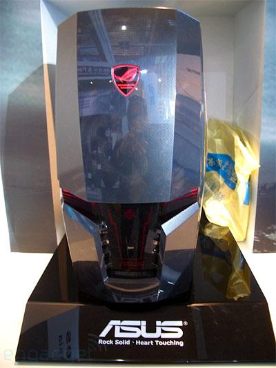 Asus ARES CG6150 Carbon Fiber Gaming Desktop Front Shot
