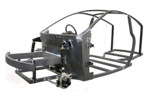 Axon carbon fiber frame