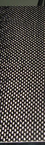 Carbon fiber mousepad weave