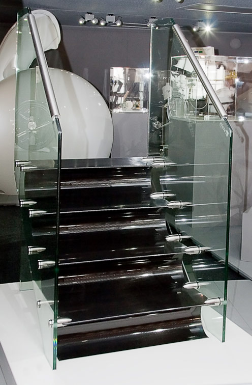 Carbon fiber stairs