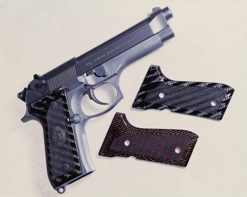 Carbon Creations Carbon Fiber Gun Grips | Carbon Fiber Gear