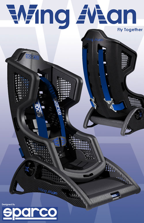 Carbon fiber baby seat