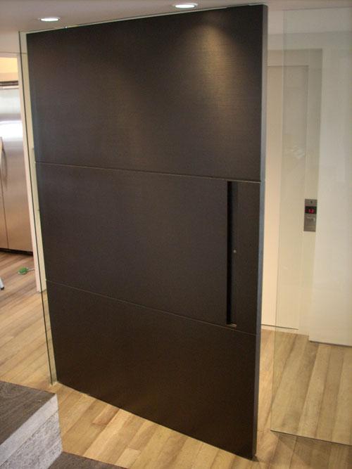 Carbon fiber door