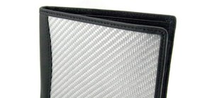 Silver Texalium Carbon Fiber Look Wallet