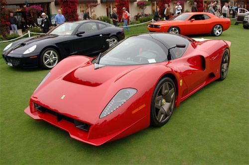Ferrari P4/5 front