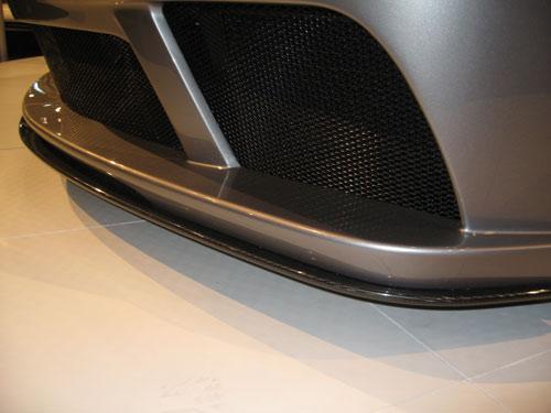 SL65 AMG carbon fiber front lip