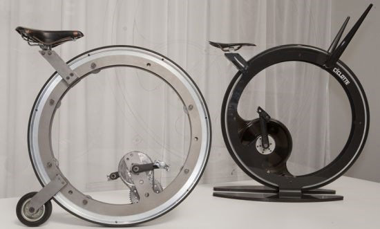 Carbon Fiber Ciclotte Monowheel Excercise Bike