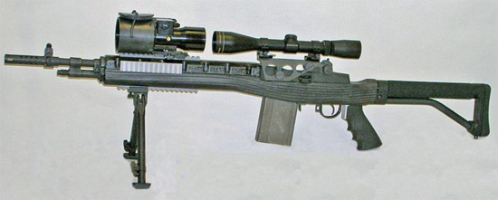 Carbon fiber M14/M1A rifle