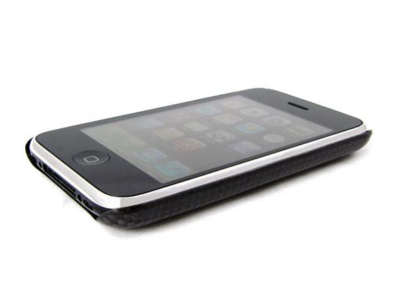 Clad Cases carbon fiber iPhone 3G case