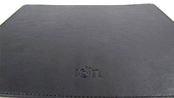 Ion carbon fiber and leather mousepad