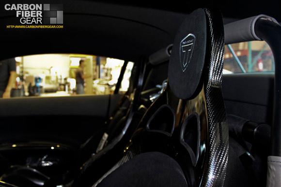 Tecnocraft Audi R8 PPI Razor carbon fiber interior