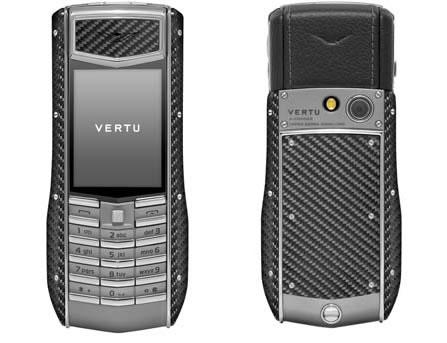 Vertu Ascent Ti Carbon Fiber edition