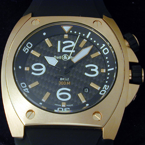 Bell & Ross BR-02 Pink Gold: A Watch Fit For James Bond