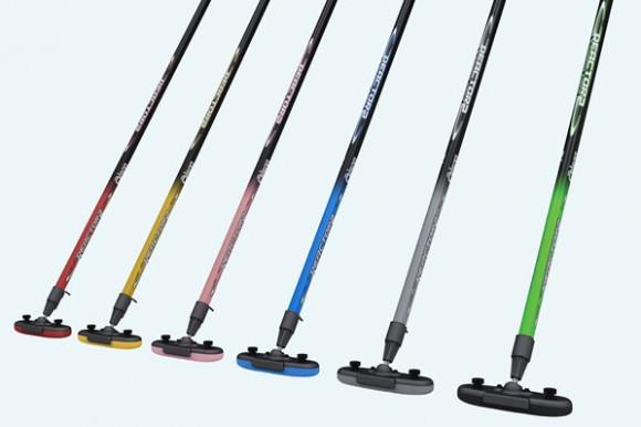 Olson carbon fiber curling broom