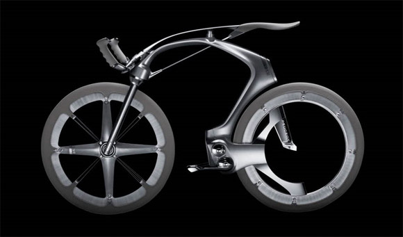 Peugeot B1k carbon fiber bicycle concept
