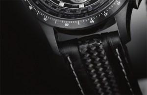 Hamilton X-Mach watch carbon fiber band