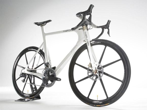 $34,000 Carbon Fiber Monocoque Framed F1 Bicycle | Carbon Fiber Gear