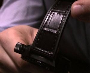 U-Boat Flightdeck carbon fiber watch
