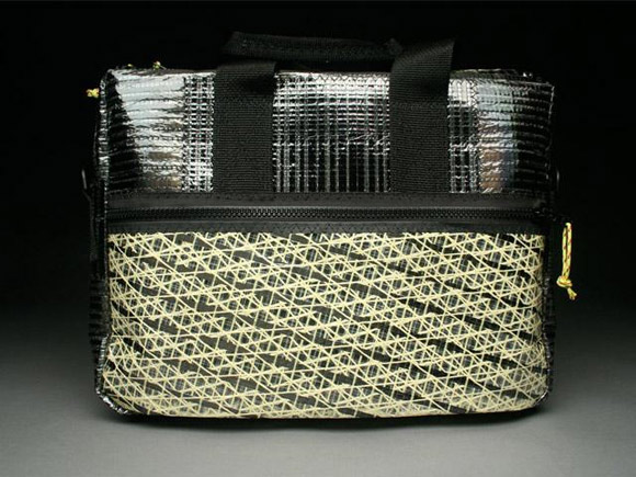 RAGGEDedge Carbon Fiber Briefcase - Carbon Fiber / Gold Aramid