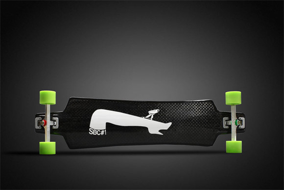 Carbon fiber long board