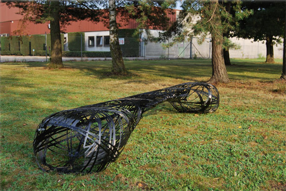 Peter Donders C-Bench carbon fiber bench