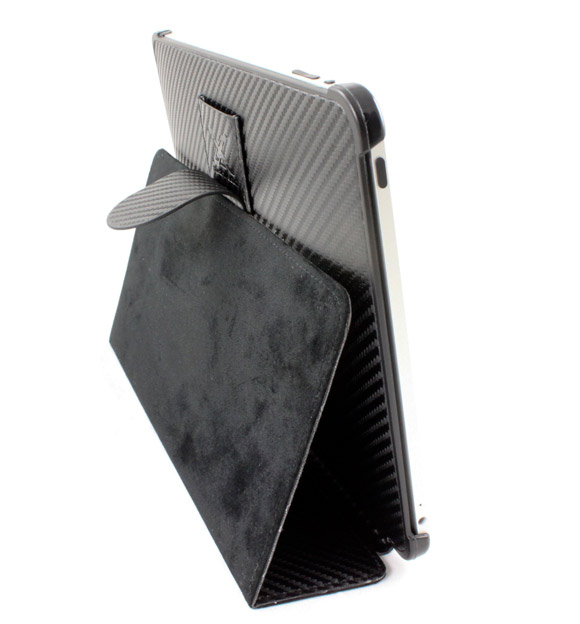 xGear carbon fiber leather Folio iPad case