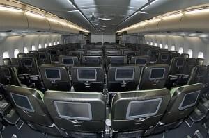 Qantas A380 carbon fiber seats