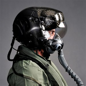HMDS carbon fiber helmet for F-35 Lightening II