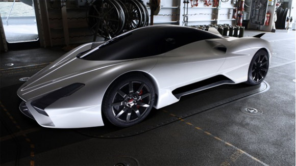 Next generation SSC Ultimate Aero II supercar