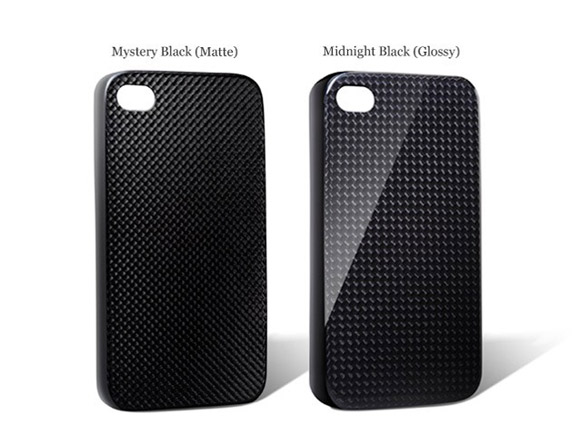 monCarbone Hovercoat carbon fiber iPhone 4 / 4S case