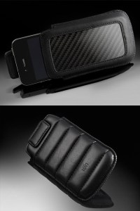 Ion CarbonJacket Carbon Fiber and Leather Pouch