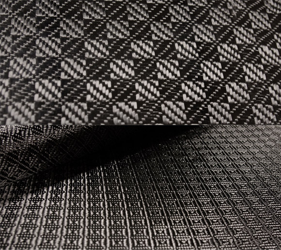 Rook carbon fiber fabric
