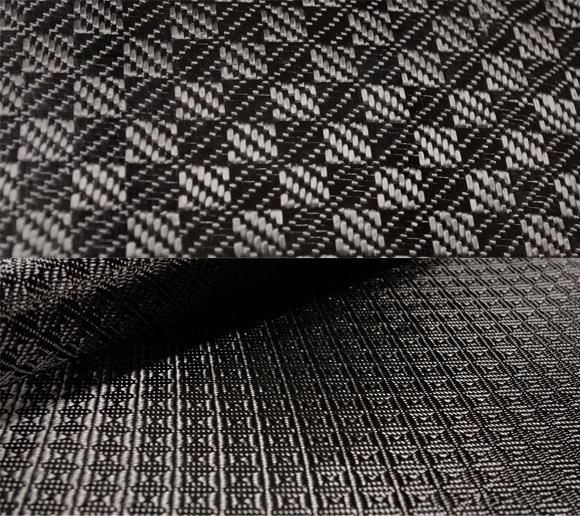 Rook carbon fiber fabric