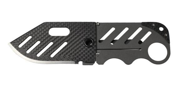 Creditor carbon fiber money clip knife