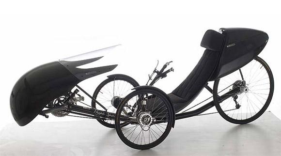 Carbon fiber Windcheetah tricycle