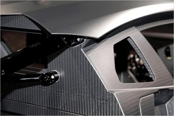 Lamborghini Aventador carbon fiber monocoque