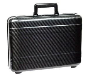 Zero Halliburton carbon fiber attache briefcase