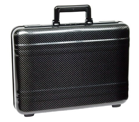 Zero Halliburton carbon fiber attache briefcase