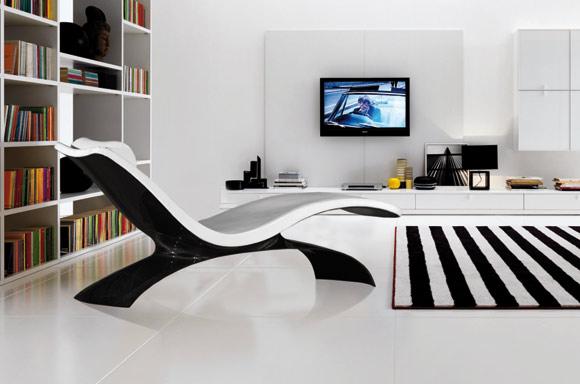 Kedo X-1 carbon fiber lounge chair