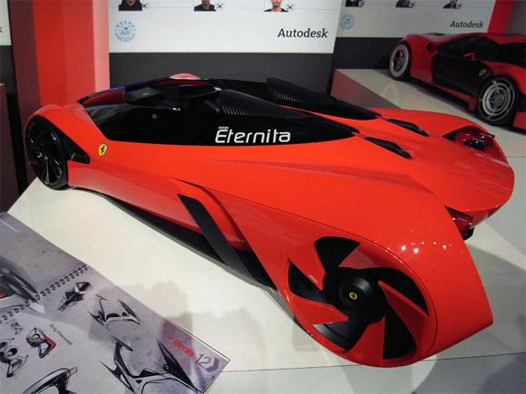 Student Ferrari Eternita concept