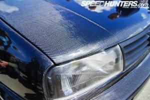 Carbon fiber Volkswagen Golf MKIII