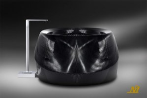 Corcel N.1 carbon fiber bath tub