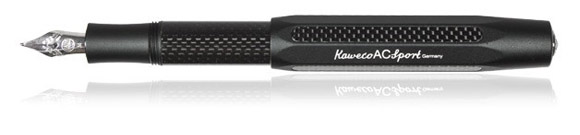 Kaweco AC Sport carbon fiber and aluminum fountain pen
