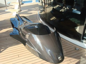 Exo carbon fiber jet ski