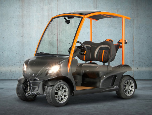 Garia Mansory Edition carbon fiber golf cart