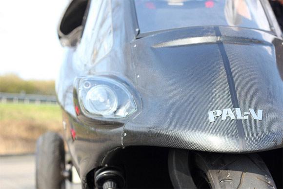 PAL-V carbon fiber flying car