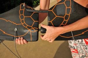 Carbon fiber Subwing