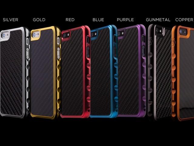 Ion Predator Carbon Fiber iPhone 5 Case